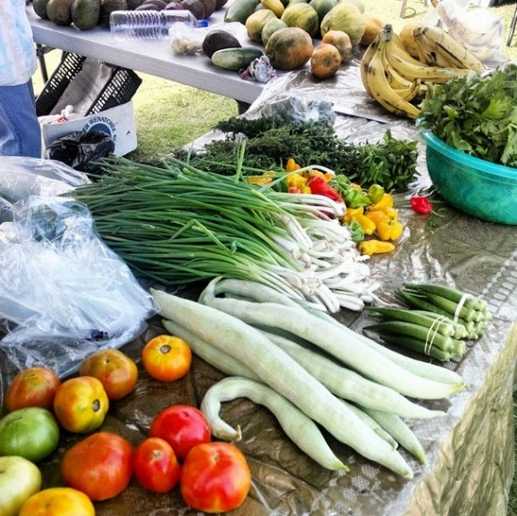 St. Lucia Gros Islet Farmers Market